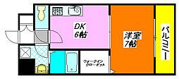 リメーン・II 203号室[2階]の間取り