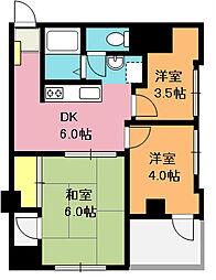 新宏ビル[4階]の間取り