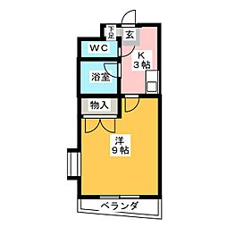 シティライフ藤ヶ丘南1号館[3階]の間取り