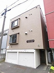 北海道札幌市東区北二十一条東10丁目の賃貸アパートの外観