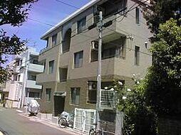 福岡県福岡市早良区西新3丁目の賃貸マンションの外観