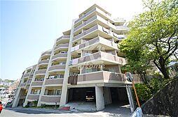 兵庫県神戸市須磨区清水台の賃貸マンションの外観