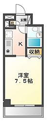 ソレイユM津田沼[2階]の間取り