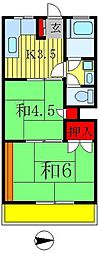 真寿美マンション[2階]の間取り