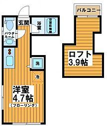 シルバーコート代田橋[2階]の間取り