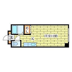 ベルテ北広島[4階]の間取り