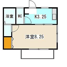 メゾンヤツハシII[201号室]の間取り
