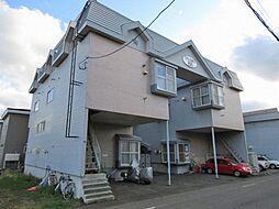 北海道札幌市東区北二十条東18丁目の賃貸アパートの外観