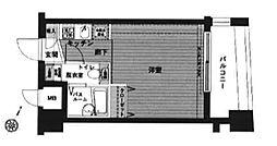 東京都中野区東中野2丁目の賃貸マンションの間取り