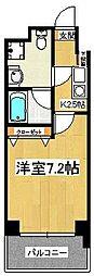 エレンシアK[702号室]の間取り