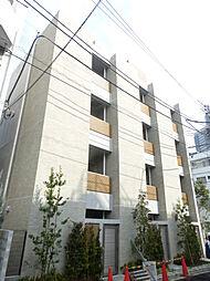 東京都渋谷区恵比寿南2丁目の賃貸マンションの外観