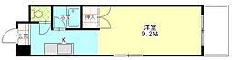ドミール21EAST[2階]の間取り