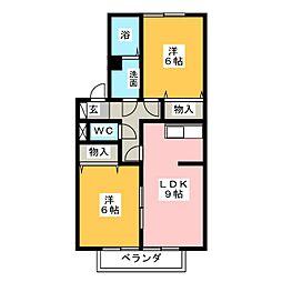 ラフィネANN[2階]の間取り