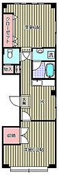 モアビル[2階]の間取り