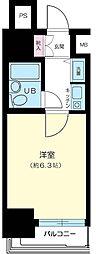ウィン浅草[3階]の間取り