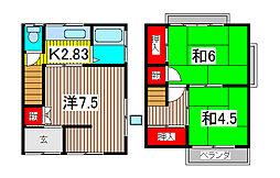 [一戸建] 埼玉県さいたま市南区辻1丁目 の賃貸【埼玉県 / さいたま市南区】の間取り