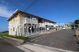 香川県高松市香南町由佐の賃貸アパートの外観