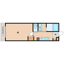 阪神本線 尼崎駅 徒歩7分の賃貸マンション 9階1Kの間取り