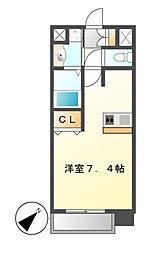 プレサンス新栄リミックス[7階]の間取り