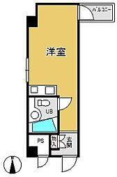 GSハイム船場[5階]の間取り
