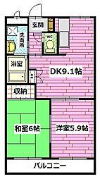 エクシード長束西[2階]の外観