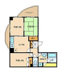 MH[2階]の間取り