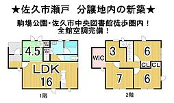 北中込駅 2,693万円