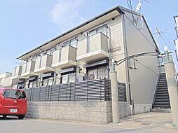 京都府京都市山科区大宅五反畑町の賃貸アパートの外観
