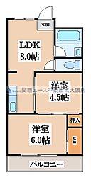 第三寺尾マンション[4階]の間取り