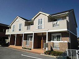 滋賀県近江八幡市安土町常楽寺の賃貸アパートの外観