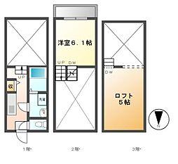 K−Flat[2階]の間取り