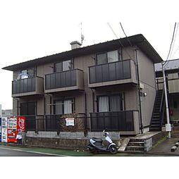 東京都世田谷区岡本2丁目の賃貸アパートの外観