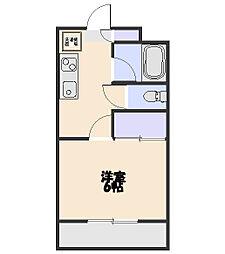 大成ハイツ東[302号室]の間取り