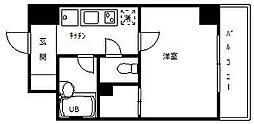 東京都大田区大森北3丁目の賃貸マンションの間取り