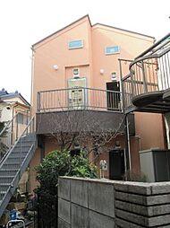 神奈川県川崎市高津区新作5丁目の賃貸アパートの外観