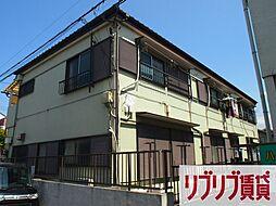 千葉県千葉市中央区鶴沢町の賃貸アパートの外観