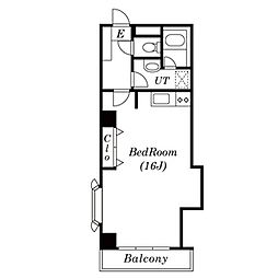 アパートメント麻布No.10[3階]の間取り