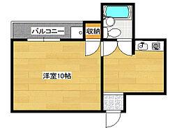 ドリーム21[4階]の間取り