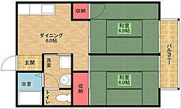 セジュール粉浜[2階]の間取り