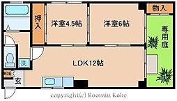 吉田マンション[104号室]の間取り