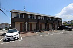 福岡県古賀市中央1丁目の賃貸アパートの外観