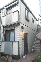 東京都品川区西品川3丁目の賃貸アパートの外観