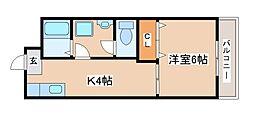 プレアール西神戸[306号室]の間取り