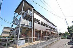埼玉県越谷市南町3丁目の賃貸アパートの外観
