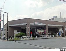 洗足駅(現地まで720m)