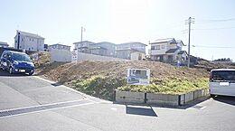 A区画の現地写真です。