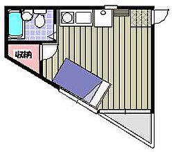セフィール永山[103号室]の間取り