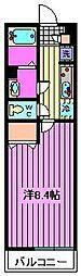 リブリ・Daimon[301号室]の間取り