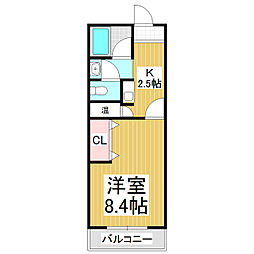 中曽根ビル[2階]の間取り