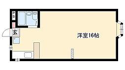 愛知県名古屋市瑞穂区瑞穂通7丁目の賃貸マンションの間取り